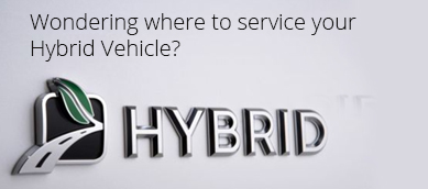Service Your Hybrid Vehicle