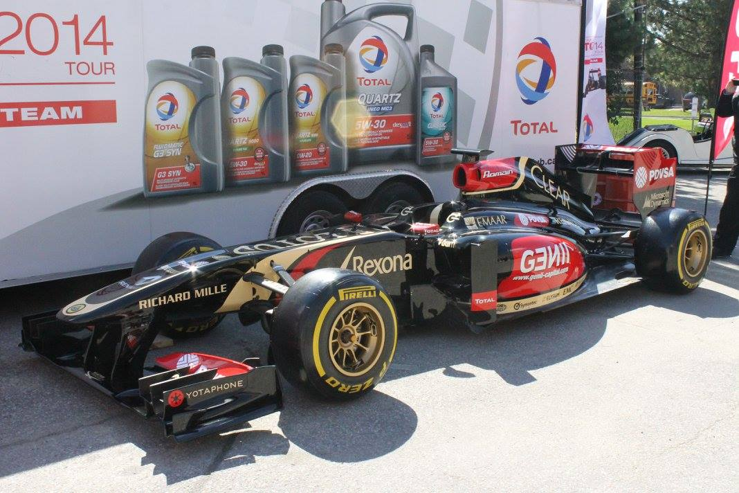 Lotus F1 Car Day