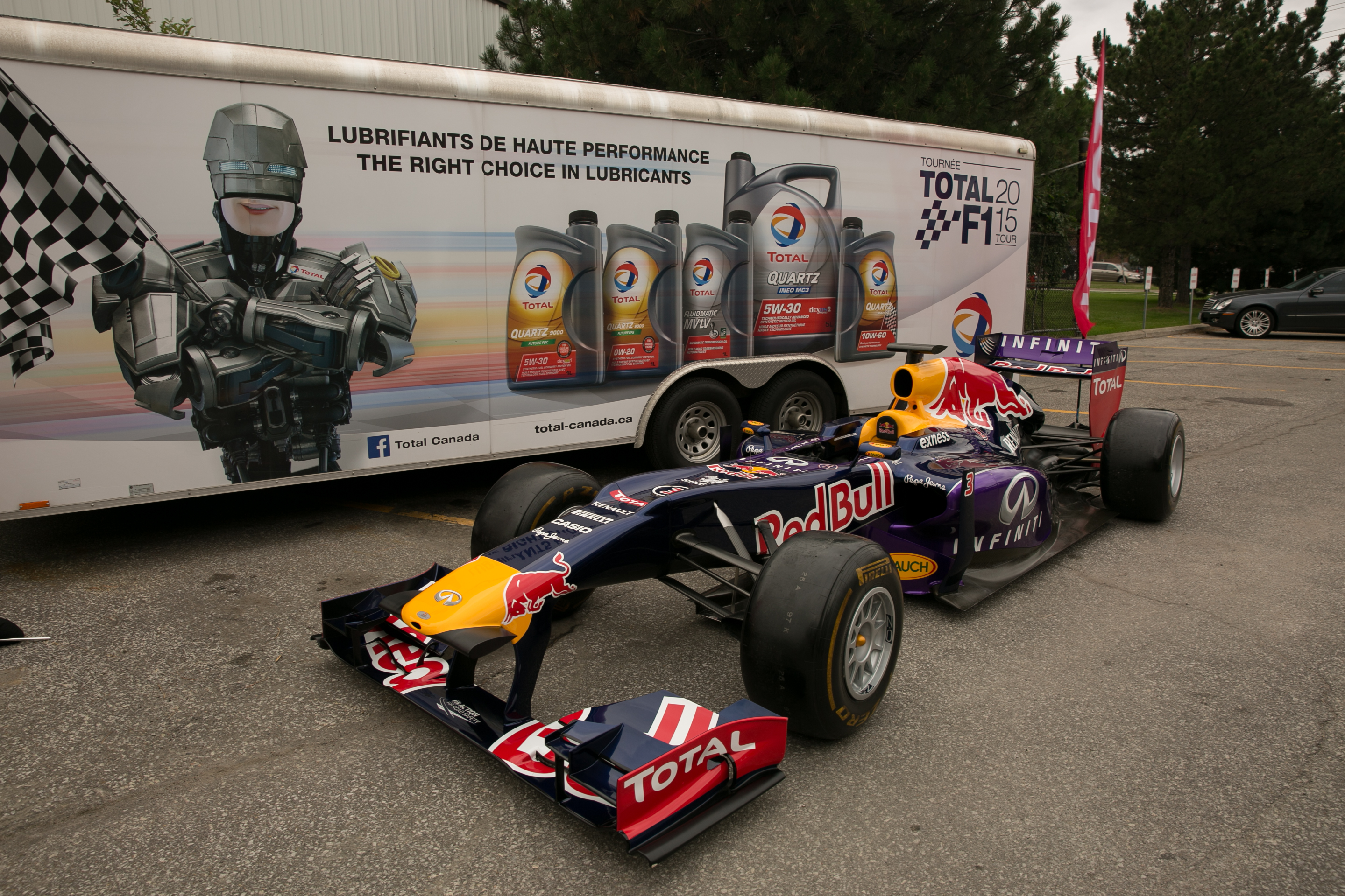 Redbull F1 Car Open House